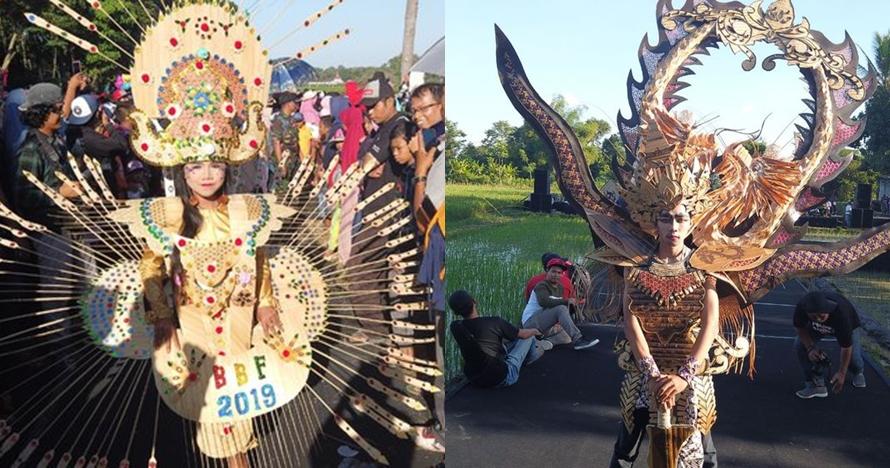 Sawah jadi catwalk, ini 5 keunikan Festival Bambu Gintangan 2019