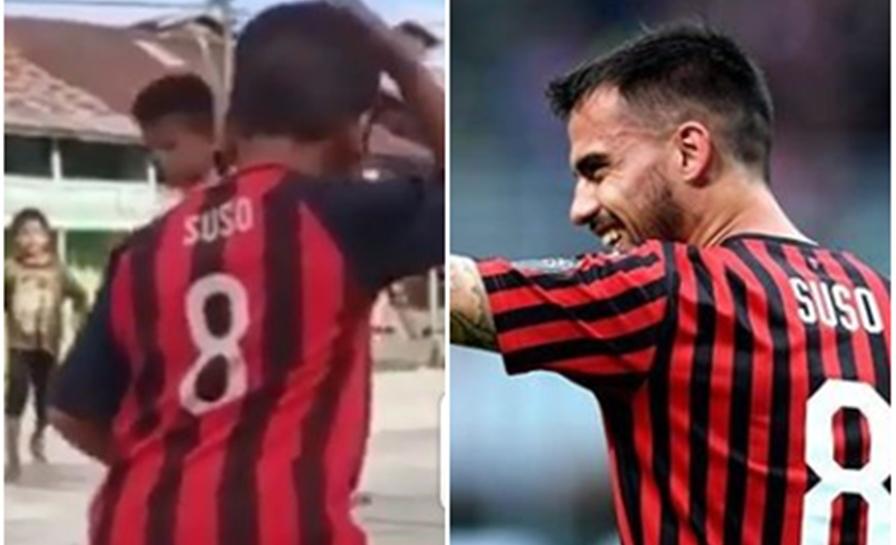 Pemain AC Milan ini unggah video bocah Indonesia, assistnya keren!