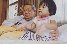 Hibur kakeknya, potret cucu SBY disebut mirip Ani Yudhoyono