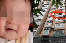 Marah diminta uang istri, suami lempar bayinya dari lantai 6