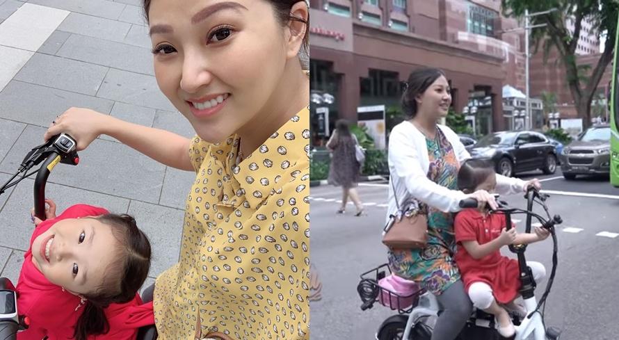 Alasan Sarwendah antar Thalia sekolah naik sepeda daripada mobil, haru