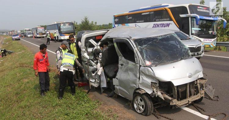 3 Fakta penyerang sopir bus kecelakaan di Cipali, jadi tersangka