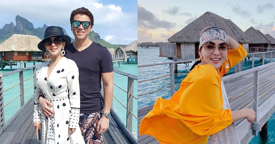 11 Momen bulan madu Syahrini dan Reino Barack di Bora-Bora, so sweet