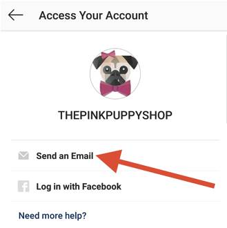 password Instagram pixabay