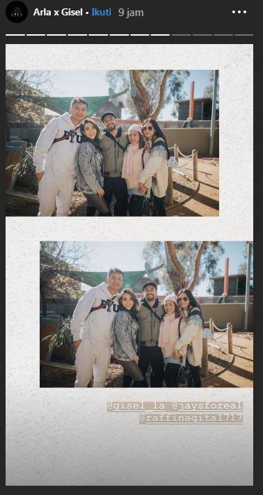 Potret liburan Gisella di Australia  © 2019 brilio.net