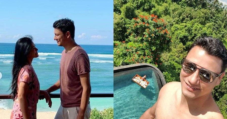 Selfie bareng monyet, aksi Christian Sugiono panen pujian