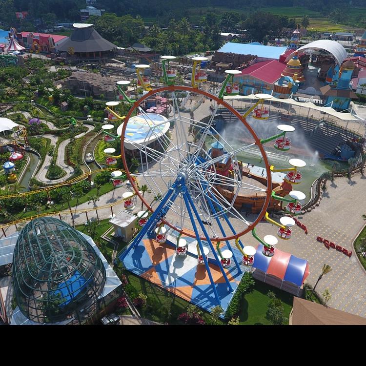 10 Keseruan di Saloka, taman tematik baru terbesar di Jawa Tengah