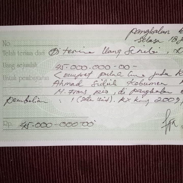 rx king jadul 45 juta © Facebook/shidiq.ragiel