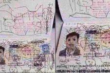 Paspor digambari anaknya, ayah ini jadi tertahan di imigrasi