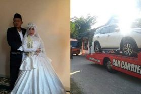 Viral mahar mobil mewah penjual bakso, ternyata hasil curian