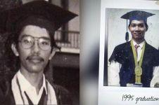Pakai toga, 6 foto wisuda lawas tokoh nasional ini manglingi