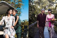 8 Foto prewedding Bunga Jelitha & Syamsir Alam di Pulau Dewata