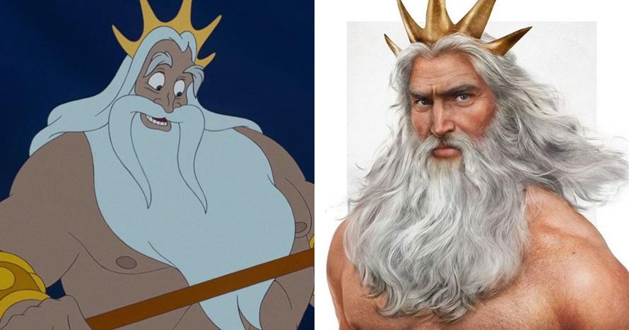 5 Ilustrasi ayah di film Disney digambar mirip manusia, keren