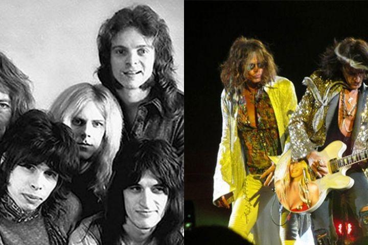 Foto perubahan 9 band legendaris dunia saat debut dan sekarang