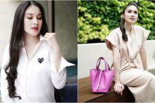 10 Gaya stylish Sandra Dewi saat hamil tua, kece maksimal