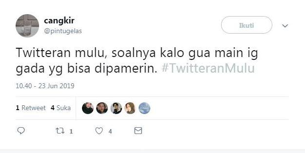 cuitan warganet #TwitteranMulu ngakak © 2019 brilio.net