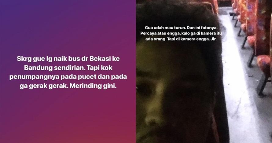 Kisah serem perjalanan bus Bekasi-Bandung ini bikin bergidik
