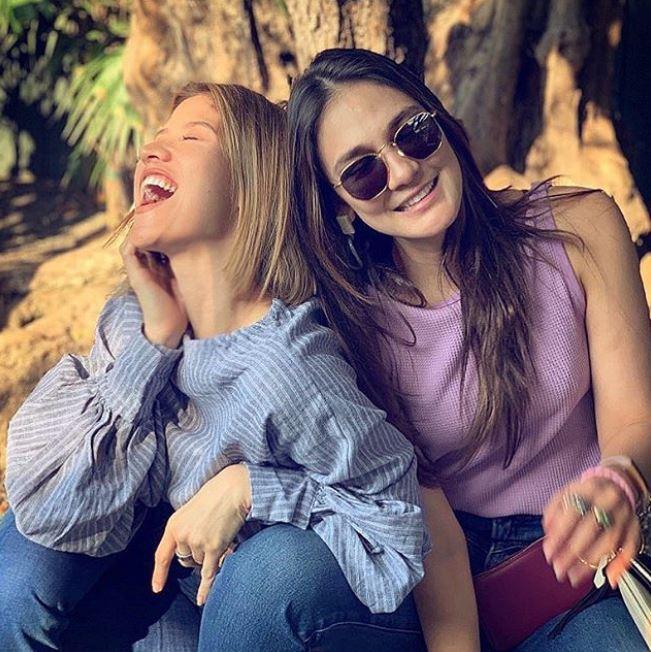 liburan Luna dan Millane di Amerika © 2019 brilio.net