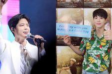 6 Aksi Park Bo-gum fan meeting di Manila, cover dance BTS