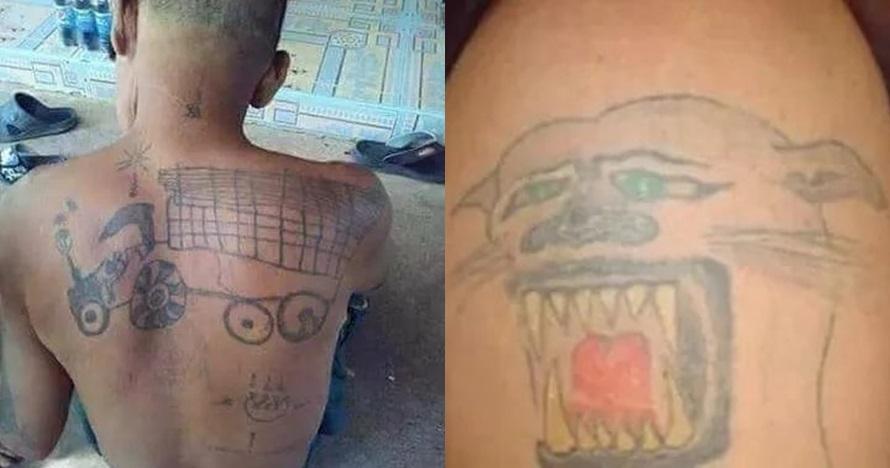 Bak gambaran anak SD, 8 tato gagal ini bikin nyesel seumur hidup