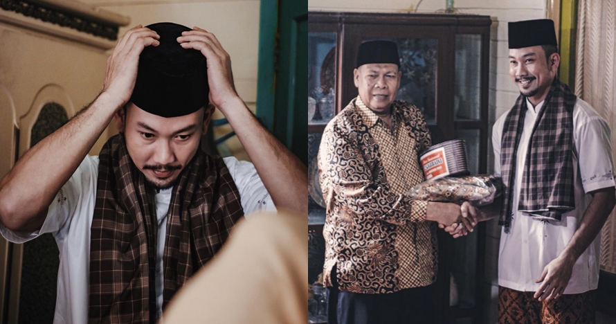 8 Momen Denny Sumargo raih gelar Datuk Minangkabau, tampil berpeci