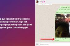 Penumpang 'bus hantu' Bekasi-Bandung sempat WA istri sambil gemetaran