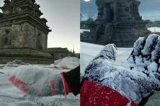7 Potret Dieng bersuhu -9 derajat celcius, dinginnya bak di Eropa