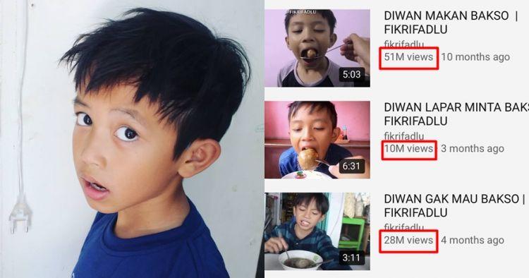 5 Fakta Diwan, bocah 'beli ikan cupang' yang viral di YouTube