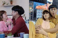 8 Aksi kocak Chika Jessica & Dwi Andhika, joget di stasiun MRT