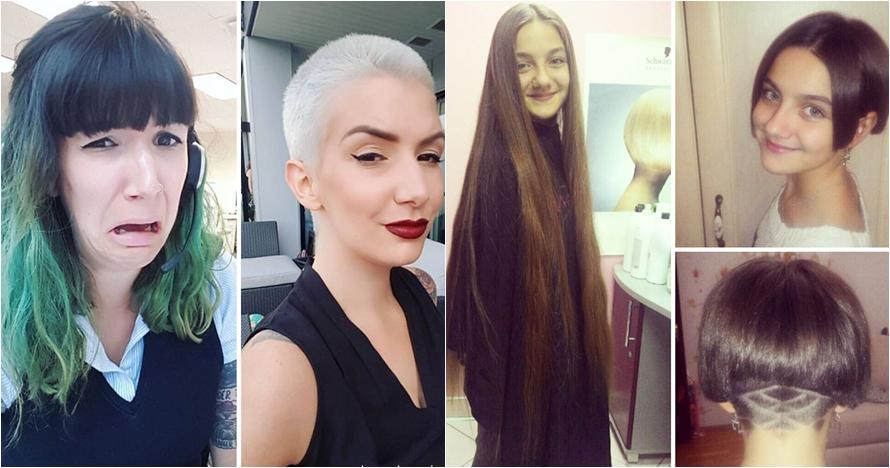 12 Inspirasi potong rambut ekstrem, bikin penampilan makin fresh
