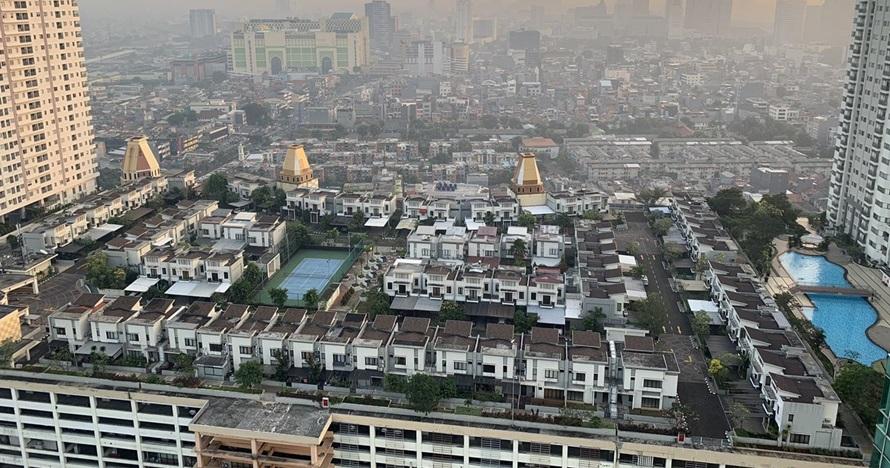 Viral perumahan di atap mal Jakarta, bikin heboh warganet Malaysia