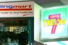 11 Pelesetan nama minimarket ini absurdnya mengundang senyum