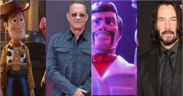 12 Penampakan karakter Toy Story di dunia nyata, ada Keanu Reeves