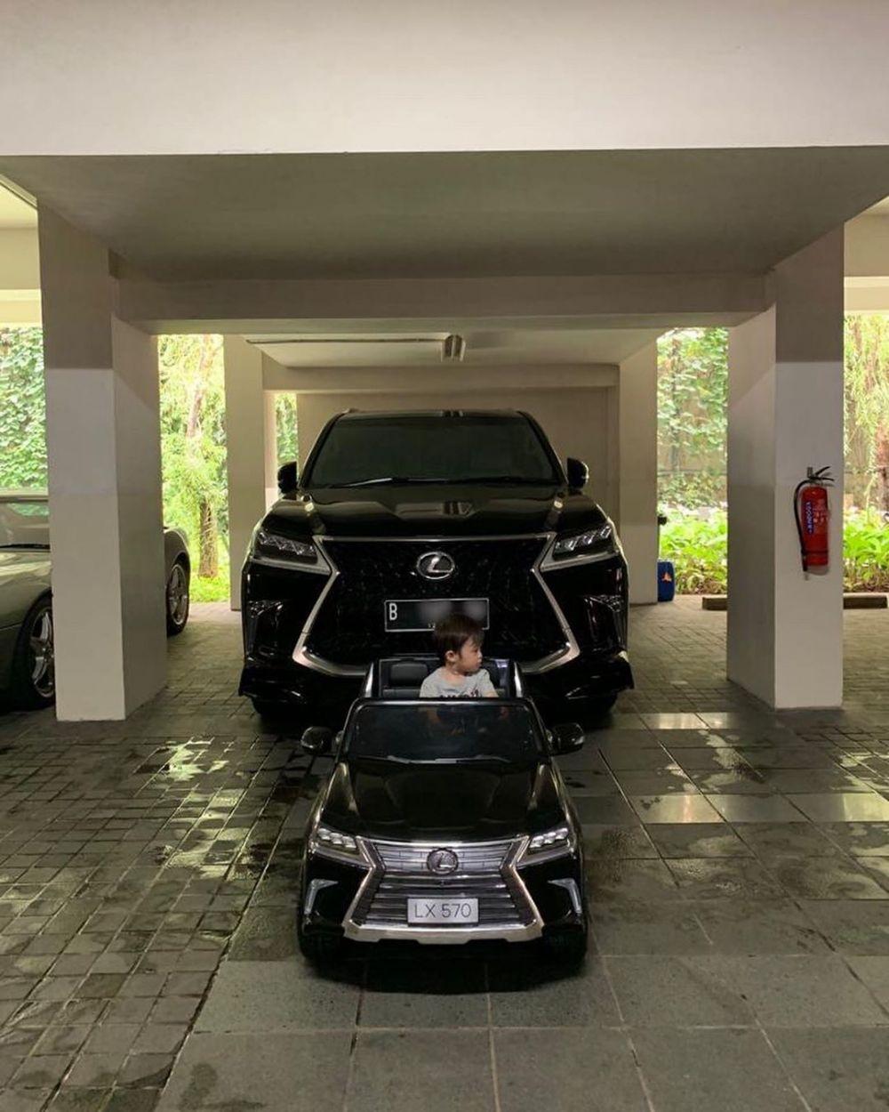 mobil-mobilan anak seleb  © 2019 brilio.net