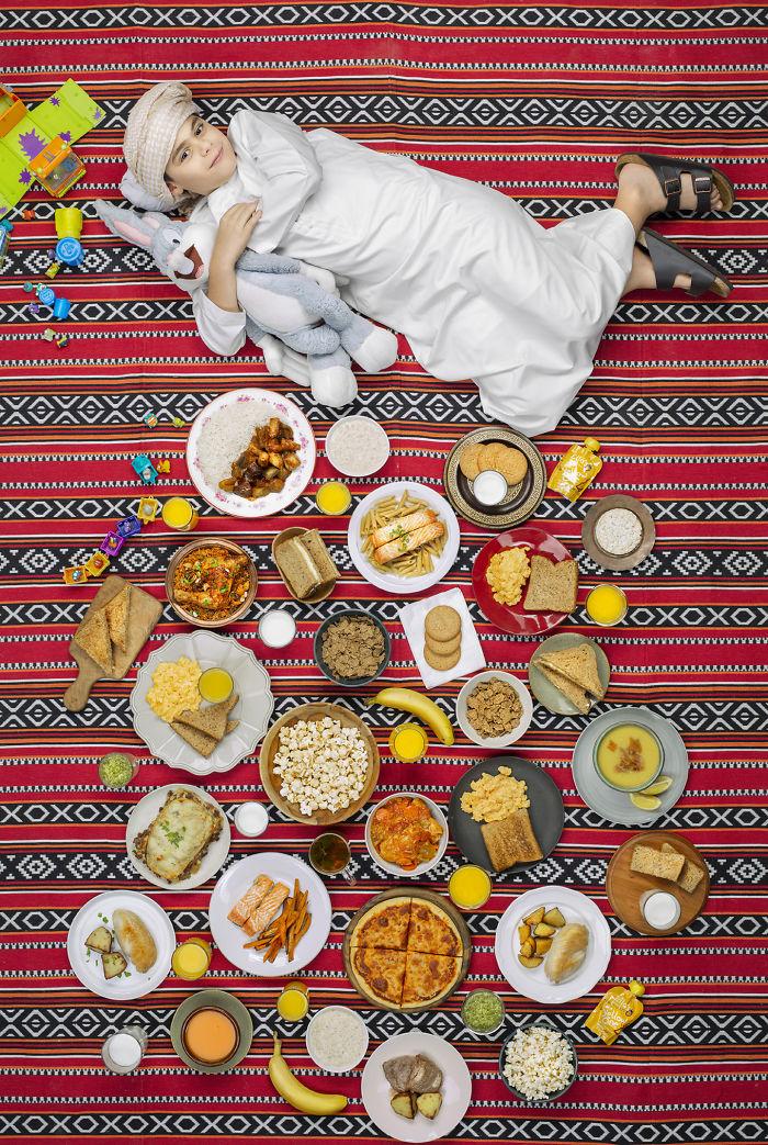 anak dan makanan © Instagram/@greggsegal