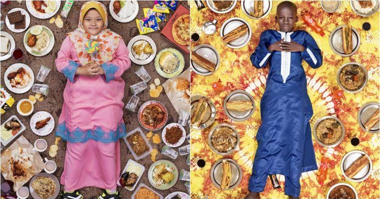 15 Foto unik ungkap makanan sehari-hari anak di berbagai dunia