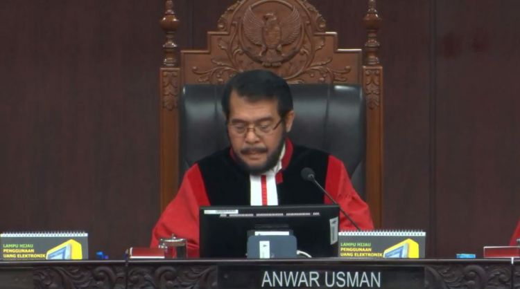 Ketua Majelis Hakim: Putusan MK jangan jadi bahan fitnah