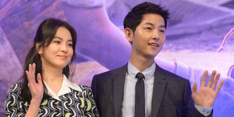 Gugat cerai Song Hye-kyo, Song Joong-ki usir penat dengan nonton