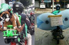 7 Cara driver ojek online amankan barang orderan, bikin tepuk jidat