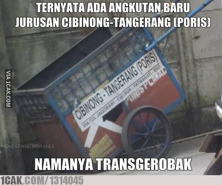 gerobak alat transportasi © 2019 berbagai sumber