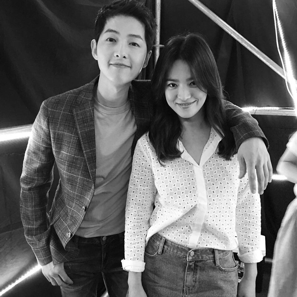 Song Hye-kyo menangis cerai instagram
