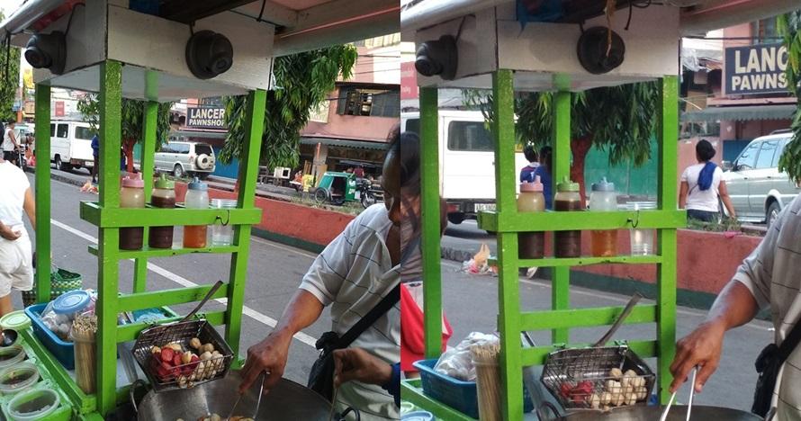 Gerobak penjual gorengan ini dipasangi CCTV, alasannya bikin sedih