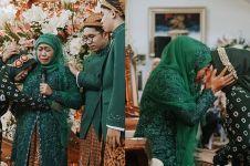10 Momen siraman putri Khofifah jelang nikah, penuh haru