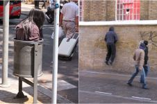 15 Potret manekin di jalan ini bikin orang sekitar heran sejenak