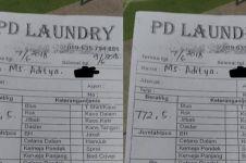 Laundry pakaian 772 kilogram, nominal tagihannya bikin kaget