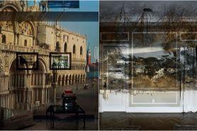 10 Foto ilusi ruangan bernuansa panorama ini bikin lihat dua kali