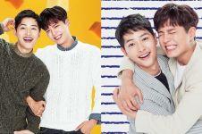 8 Momen persahabatan Park Bo-gum & Song Joong-ki, bromance abis