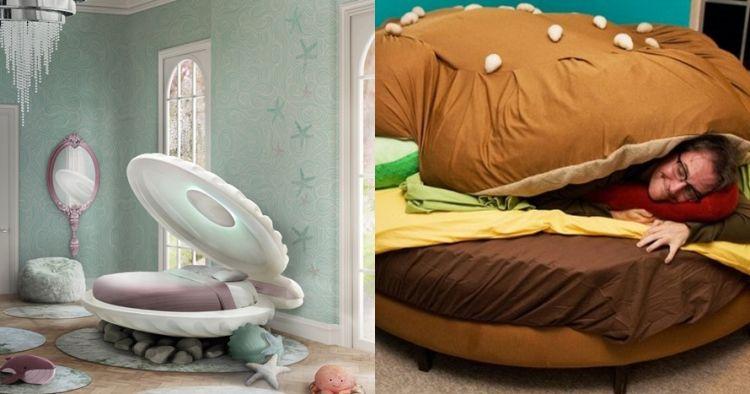 15 Inspirasi desain tempat tidur unik, tak melulu bentuk kotak
