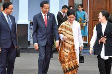 10 Pesona Iriana berkebaya dampingi Jokowi tugas negara, anggun