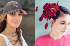 6 Momen Luna Maya kembaran baju dengan seleb lain